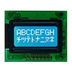 Character LCD Display Stn Blue 0802 COB LCD for Industrial / Equipment / Medical pictures & photos