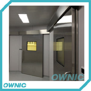 China Hot Selling Stainless Steel Hospital Door pictures & photos