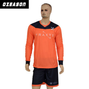 High Quality Custom Wholesale Sublimated Football Shirt / Soccer Jersey / Goalkeeper Uniform pictures & photos