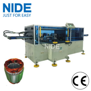 Horizontal Big Power Long Stack Length Stator Coil Forming Machine pictures & photos