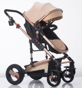 New Design European Luxury Fold Baby Carriage with Ce Certificate pictures & photos