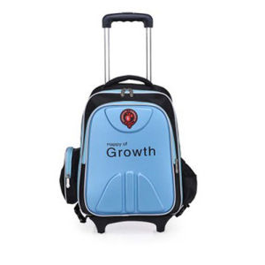 Children Kids School Student Wheeled Trolley Backpack Bag pictures & photos