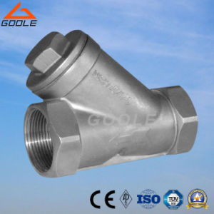 Y Type Female Strainer (GAGL11W) pictures & photos