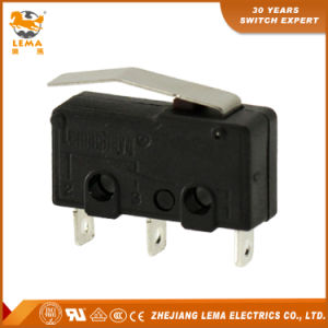Kw12-13 5A Lever Solder Terminal Mini Micro Switch CCC Ce UL Micro Switch pictures & photos