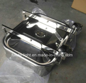 Stainless Steel Rectangle Tank Manhole Cover pictures & photos