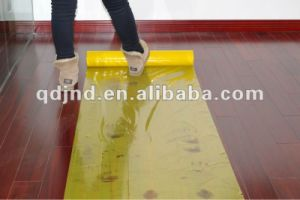 Timber Floor LDPE Protection Tape pictures & photos