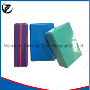 Gym Equipment Yoga Bricks Environmental Recycleable Yoga Brick pictures & photos