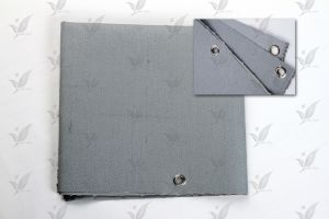 Coated Fiberglass Cloth Silver Gray Silicon pictures & photos
