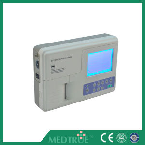Hot Selling Medical Digital 1 Channel 5.1′′ ECG Machine (MT01008185) pictures & photos