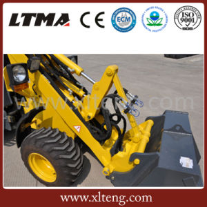 Ltma Wheel Loader 800kg Mini Loader for Sale pictures & photos