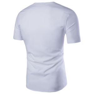 Men′s Casual Fashion Short Sleeve Dress Shirt (A414) pictures & photos