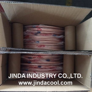 Pancake Coil Copper Tube with Printing pictures & photos