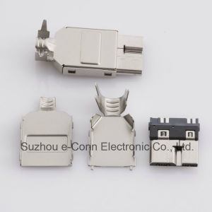 Micro USB 3.0 Solder Type Connector pictures & photos