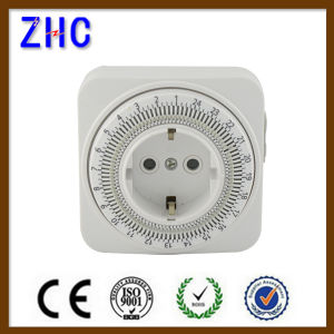 Top Quality Germany Plug Mechanical Daily Timer Switch pictures & photos
