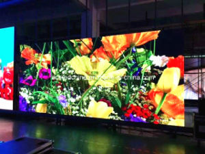 P3.91 High Resolution Lightweight Die-Cast Aluminum Indoor Rental LED Display pictures & photos