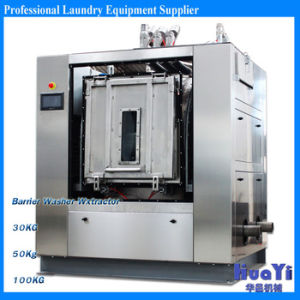 Hospital Laundry Barrier Washing Machine pictures & photos