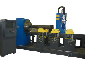 CNC Five-Axis Four Linkage Intersection Cutting Machine pictures & photos
