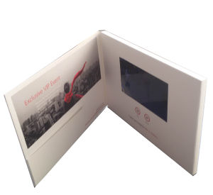 LCD Screen Video Invitation Card for Party pictures & photos