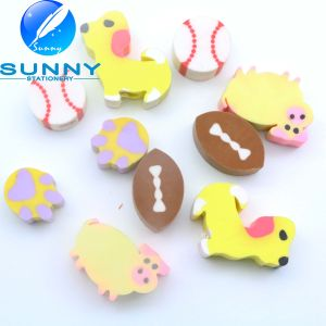 Hot Sale Anmial Shaped Erasers, Cute Erasers with Pencil Hole, Best Selling Stationery Eraser, Funny Eraser for Promotion Gift pictures & photos