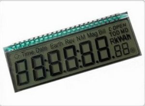 Custom 7 Segment LCD Module Display for Electricity Meter pictures & photos