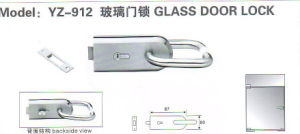Yz-913 Su304 Stainless Steel Glass Door Lock pictures & photos