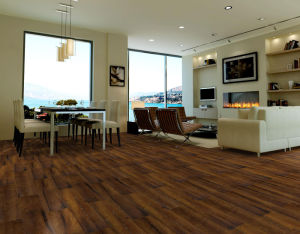 Dust Proof Healthy PVC Vinyl Flooring for Indoor pictures & photos