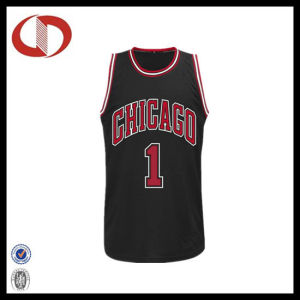Wholesale Hot Selling Number Printing Mans Basketball Jersey pictures & photos