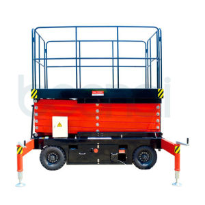 Mobile Standard Hydraulic Scissor Lift pictures & photos