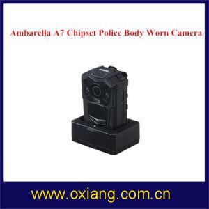 1080P IP65 Police Camera Multi-Functional Language IR Night Vision Body Worn Camera pictures & photos