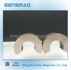 Manufacture Customized Permanent AlNiCo Magnet with C Shaped pictures & photos