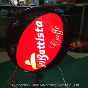 Outdoor Vacuum Forming Round Light Box pictures & photos