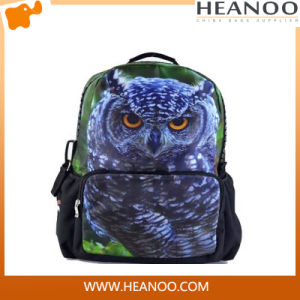 Custom China Manufacturer Owl Backpack for Men pictures & photos