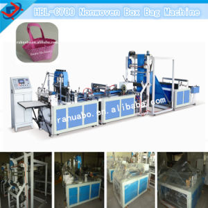 Semi-Auto Handle Bag Non Woven Bag Making Machine pictures & photos
