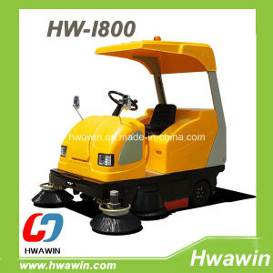 Park, Warehouse, Ground Electric Floor Sweeper pictures & photos