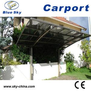 Polycarbonate Sheet Modern Metal Carport (B800) pictures & photos