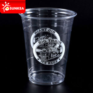 Disposable University College Logo Plastic Cups pictures & photos