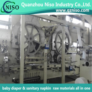 Ce Certification Full Automatic Semi Servo Adult Diaper Machine Manufacturer pictures & photos