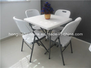 Popular Outdoor Furniture of Square Table for Camping Use pictures & photos