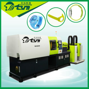 Fashion Silicone Watch Bands Injection Making Machine