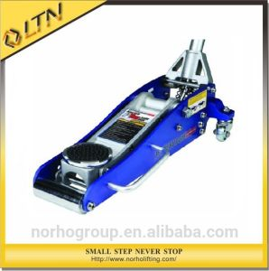 Portable Manual Aluminum Hydraulic Floor Jack (HFJ-B) pictures & photos