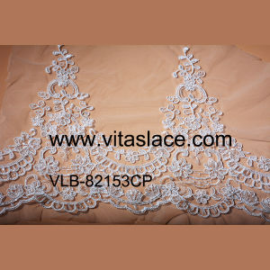 White Rayon Lace Trim with Corded for Wedding Accessories Vlb-82153cp pictures & photos