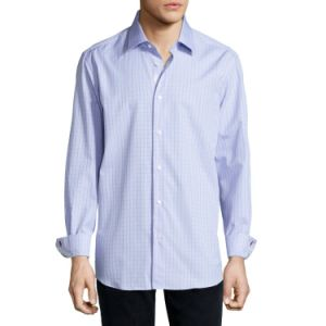 Long Sleeve Casual Shirt for Men Classic Fit Shirt pictures & photos