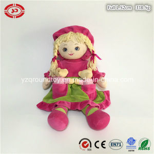 Girl Doll Plush Pink Soft Stuffed Custom Quality Toy pictures & photos