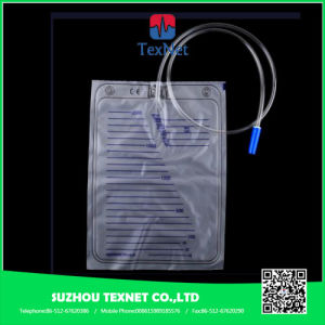 Adult Standard Economic Urine Drainage Bag Plastic Urine Bag 2000ml pictures & photos