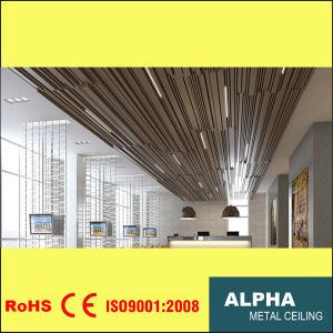 Aluminum Metal Suspended Mixed Sizes U Baffle Ceiling pictures & photos