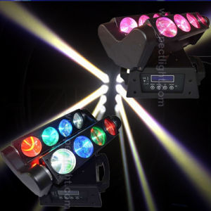 LED Beam 8*10W RGBW 4in1 Spider Effect Moving Head Light pictures & photos