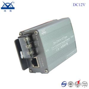 DC12V 24V 220V IP Camera RJ45 Power+LAN Surge Protector Device pictures & photos