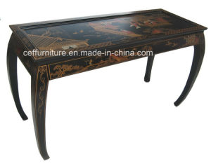 Chinoiserie Hand Painted Lacquer Whoesale Fashion Console Table