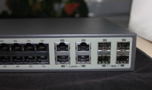 28 Port Gigabit Core Switch with 4 SFP Slots pictures & photos