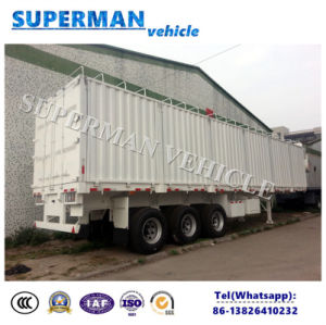 Hot Sale 70t Utility Storehouse Cargo Transport Truck Semi Trailer pictures & photos